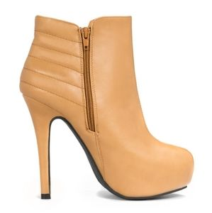 Camel Ankle Boots (Kym)